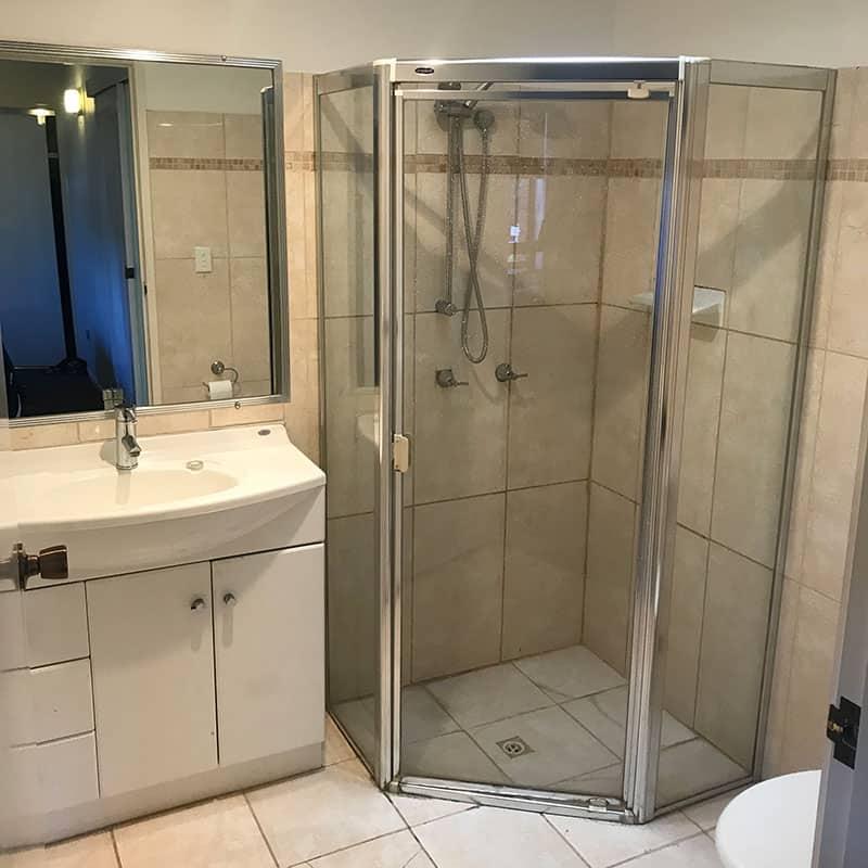 The Original Bathroom Before Renovation