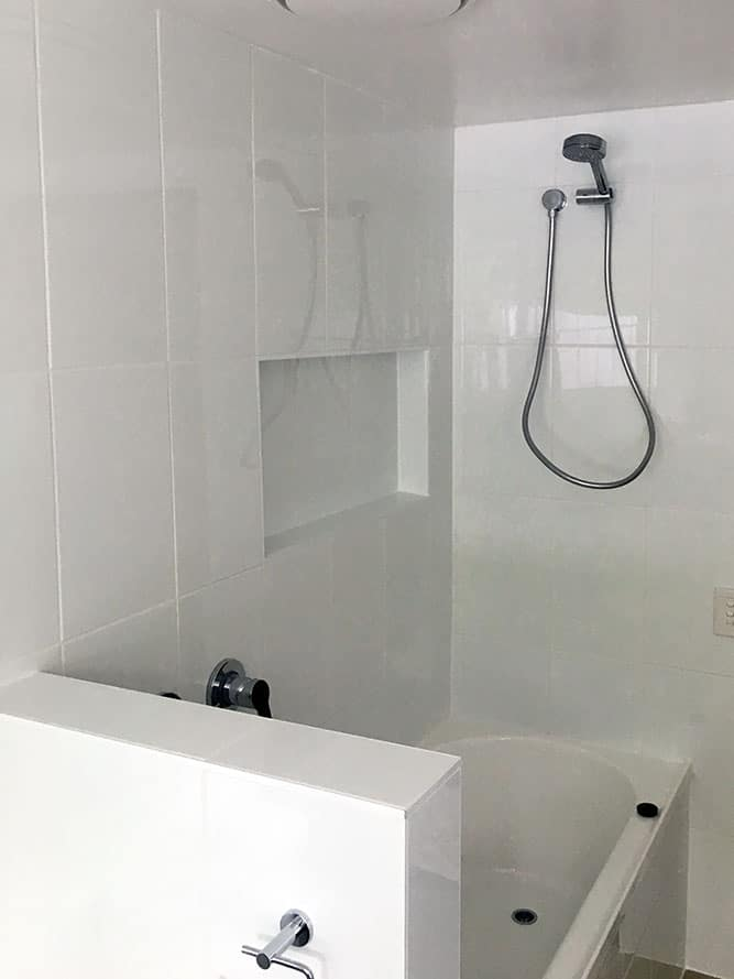 Ashgrove Shower Renovation After