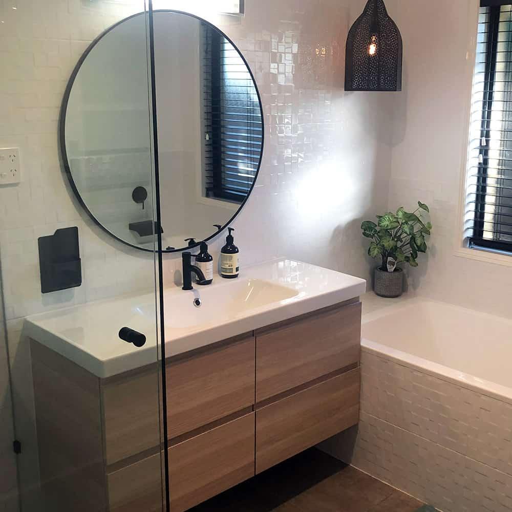 affordable small budget bathroom renovations
