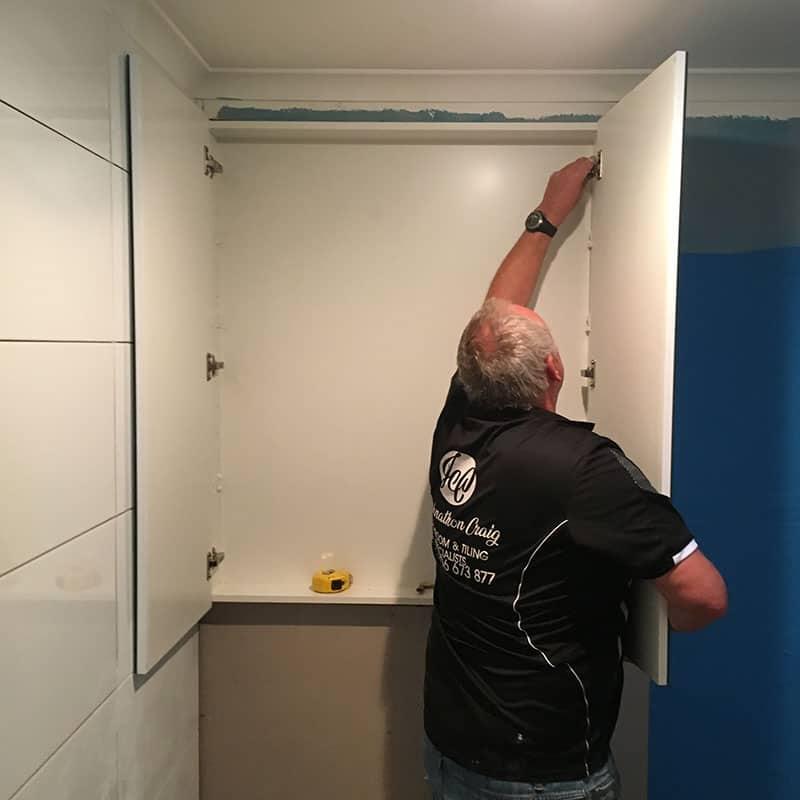 Bathroom Cabinets Step 8-1