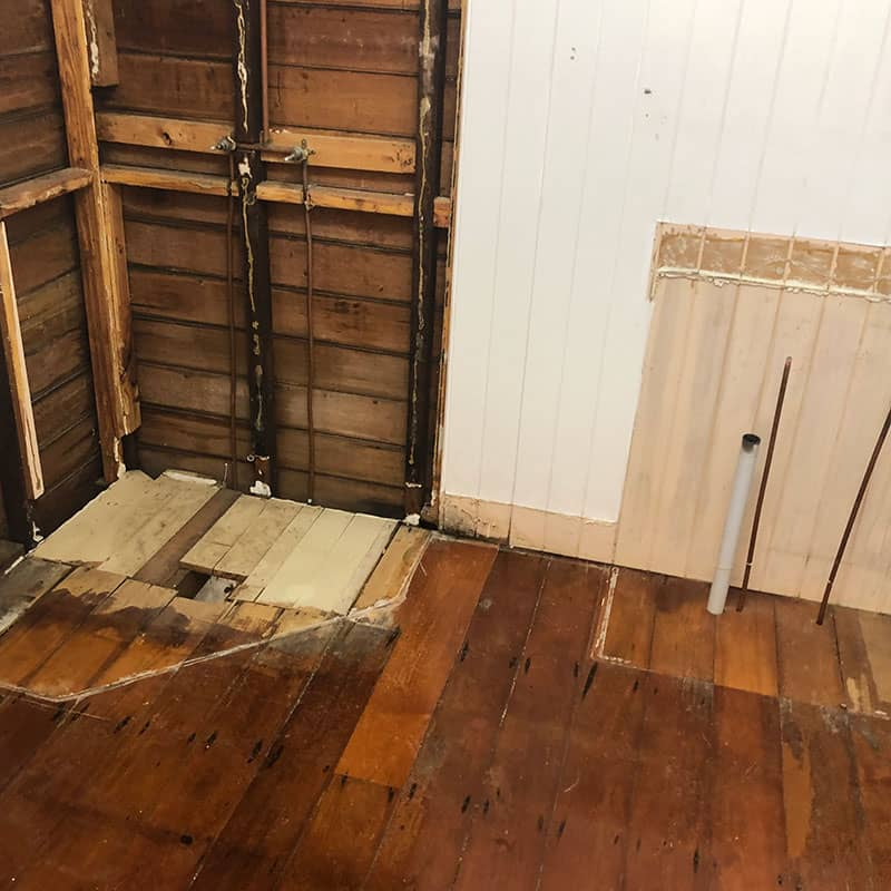 Remove Old Bathroom-Renovation Step 3